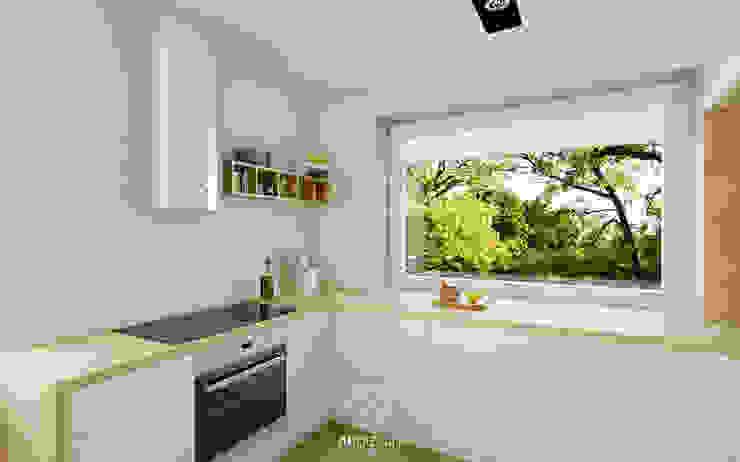 ห้องครัว โดย AP DIZAJN - wnętrza & dizajn, โมเดิร์น