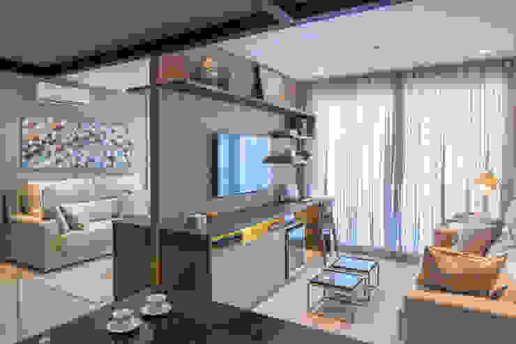 Living room by Joana França,