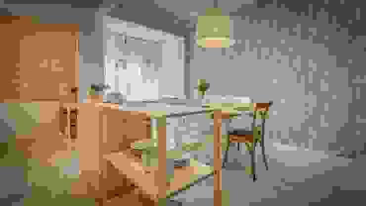 Scandinavische keukens van homify Scandinavisch