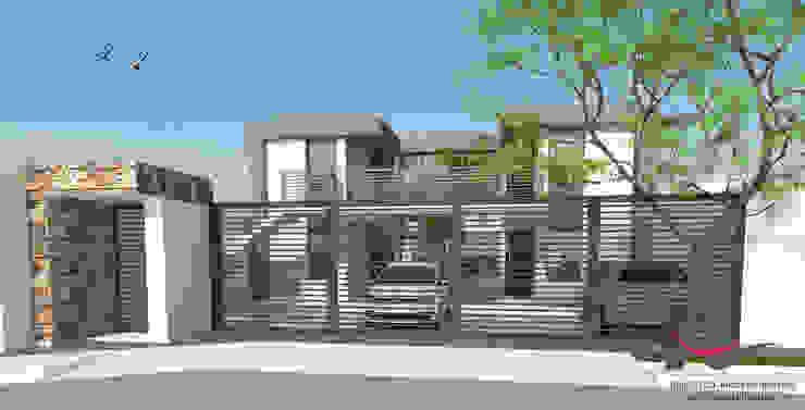 Modern Houses by Arq-Diseño Interior Modern Concrete