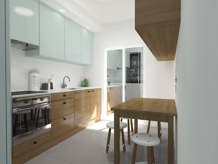 Kitchen by homify, Scandinavian