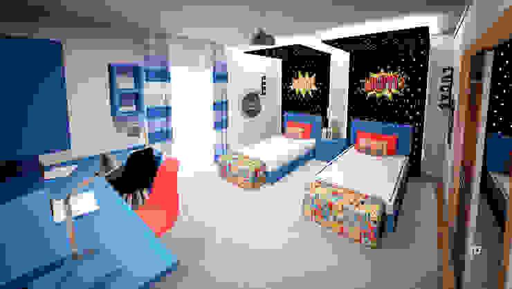 KABLANG Quartos de criança modernos por GRAÇA Decoração de Interiores Moderno