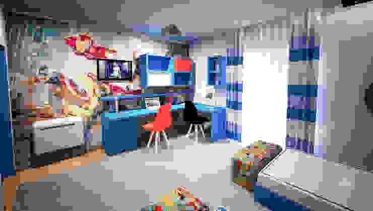 Детская комната в стиле модерн от GRAÇA Decoração de Interiores Модерн
