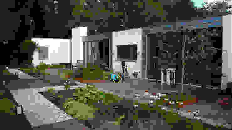Verbouwing woonhuis Rosmalen Moderne huizen van JANICKI ARCHITECT Modern Steen