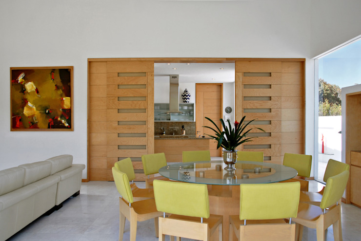 Dining room by Agraz Arquitectos S.C.,