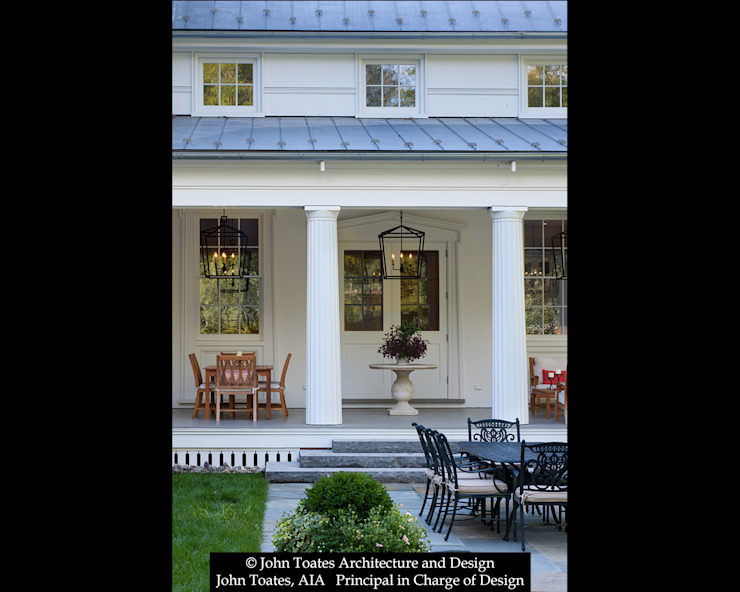 Porch from Terrace by John Toates Architecture and Design Classic