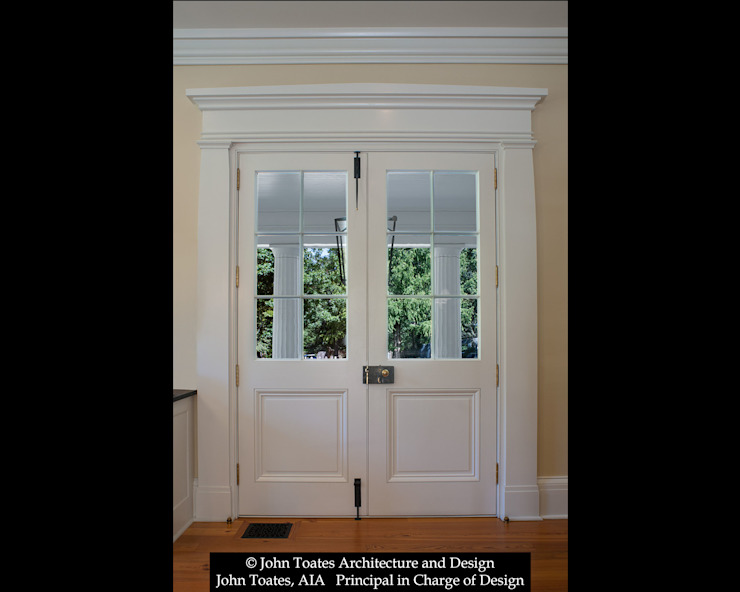 Porch Doors John Toates Architecture and Design Classic windows & doors White