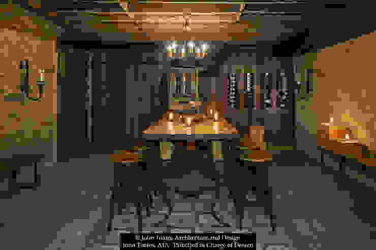 Klassische Weinkeller von John Toates Architecture and Design Klassisch