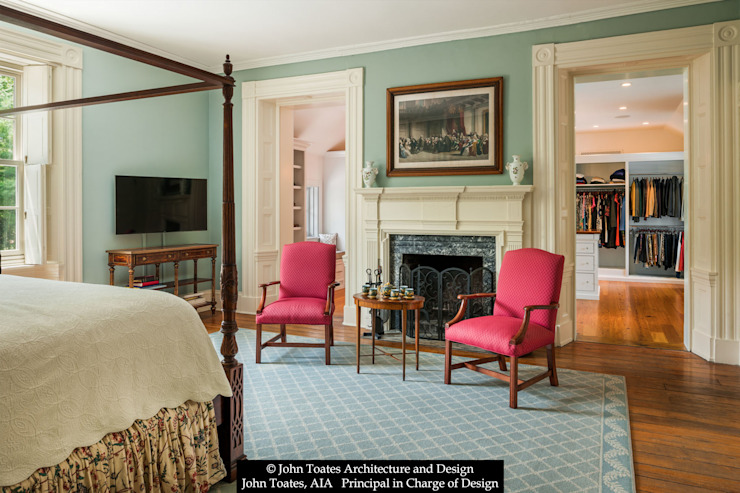 Klassische Schlafzimmer von John Toates Architecture and Design Klassisch