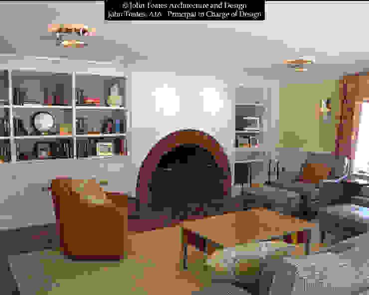 John Toates Architecture and Design Ruang Keluarga Klasik