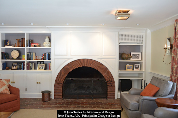 Fireplace by John Toates Architecture and Design Classic