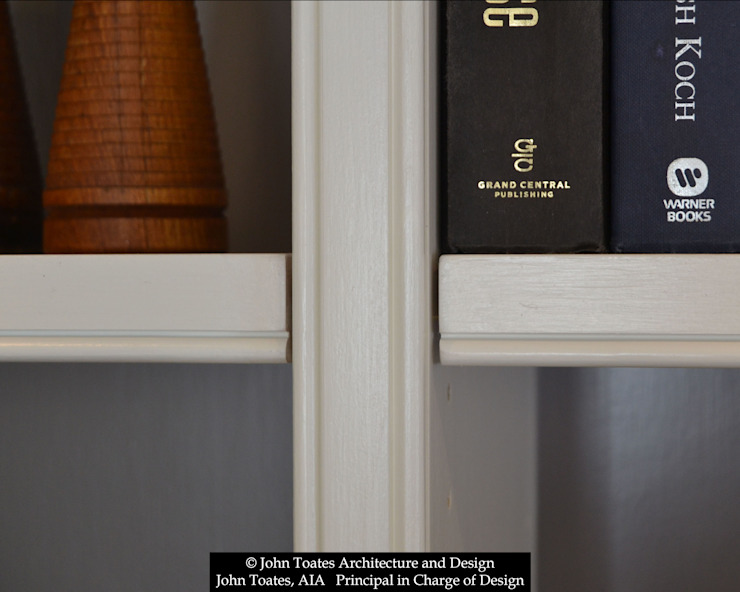 Shelving Detail by John Toates Architecture and Design Classic