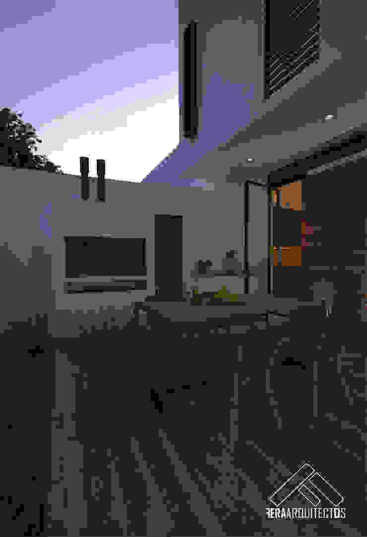 TERRAZA Balcones y terrazas minimalistas de FERAARQUITECTOS Minimalista