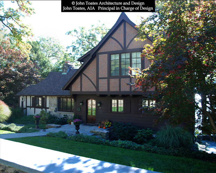 Front Facade John Toates Architecture and Design Classic style houses
