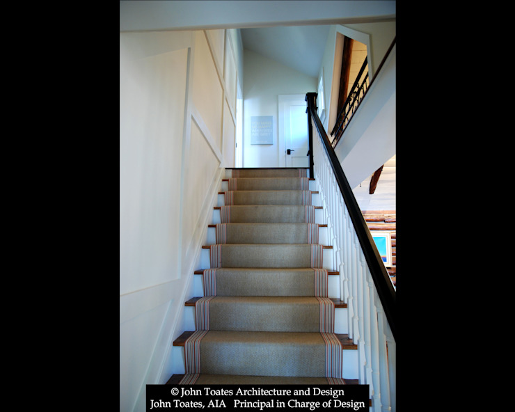 Stair Classic style corridor, hallway and stairs by John Toates Architecture and Design Classic