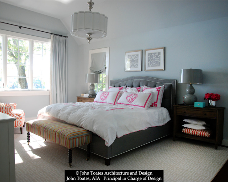 Master Bedroom Classic style bedroom by John Toates Architecture and Design Classic