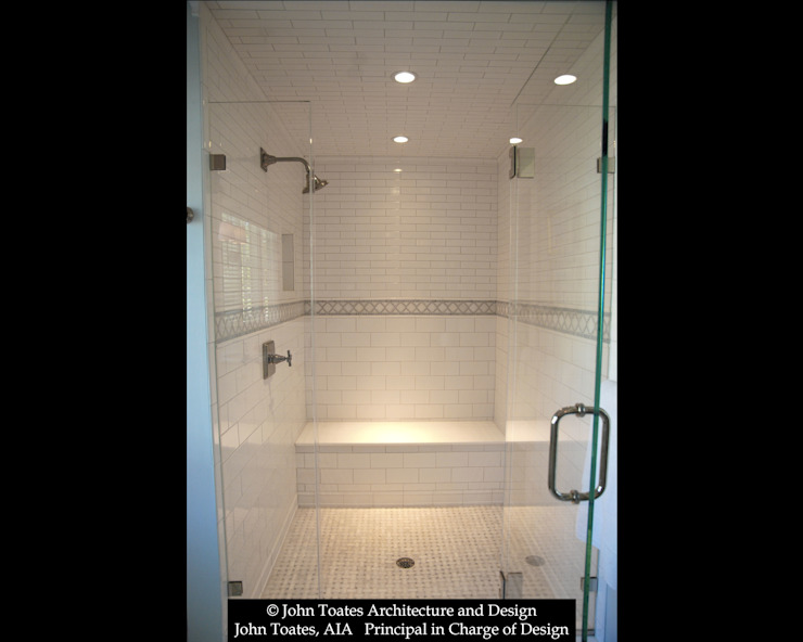 Master Bathroom Shower Classic style bathroom by John Toates Architecture and Design Classic