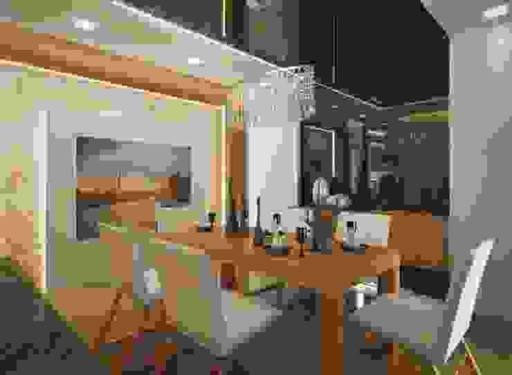 İpek Gürel Villa Modern Yemek Odası VERO CONCEPT MİMARLIK Modern
