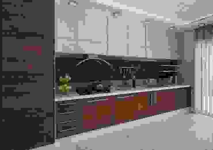 İpek Gürel Villa Modern Mutfak VERO CONCEPT MİMARLIK Modern