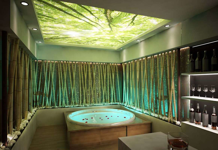 VERO CONCEPT MİMARLIK – İpek Gürel Villa:  tarz Banyo
