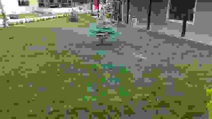 M.B KONUTU HAZIR RULO ÇİM UYGULAMASI Klasik Bahçe konseptDE Peyzaj Fidancılık Tic. Ltd. Şti. Klasik