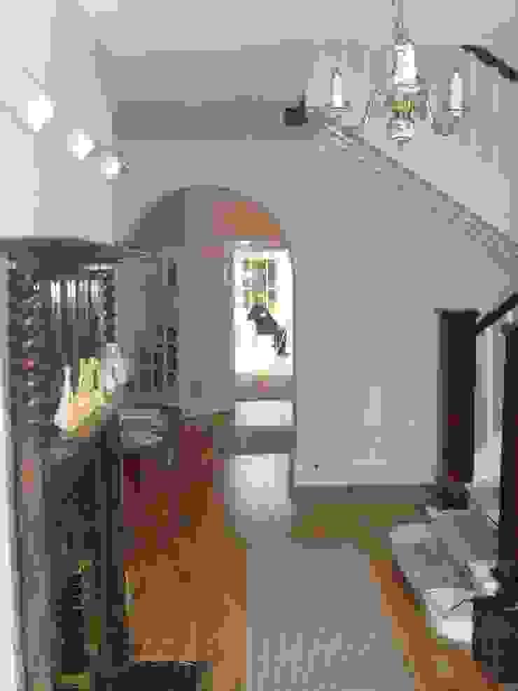 Hallway Before by George Bond Interior Design