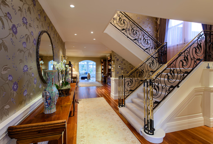 Hallway After by George Bond Interior Design
