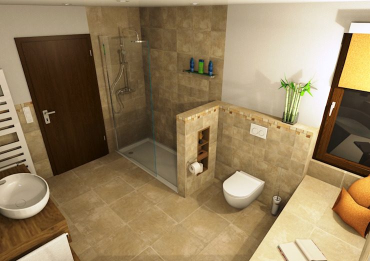 Mediterranean style bathrooms by Bad Campioni Mediterranean