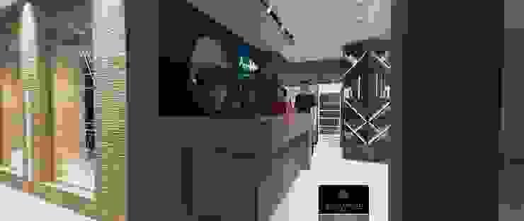 Modern gym by Lucio Nocito Arquitetura e Design de Interiores Modern Concrete