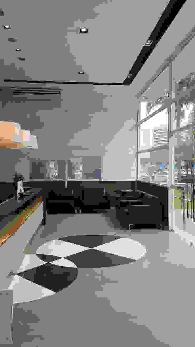 Minimalist study/office by Lucio Nocito Arquitetura e Design de Interiores Minimalist Concrete