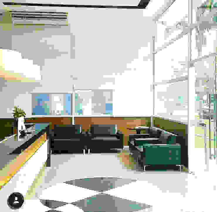 Minimalist living room by Lucio Nocito Arquitetura e Design de Interiores Minimalist Aluminium/Zinc