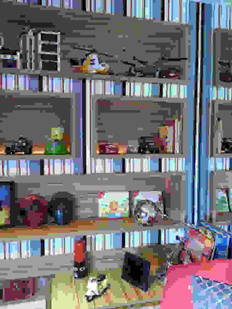 Modern nursery/kids room by Lucio Nocito Arquitetura e Design de Interiores Modern Wood Wood effect