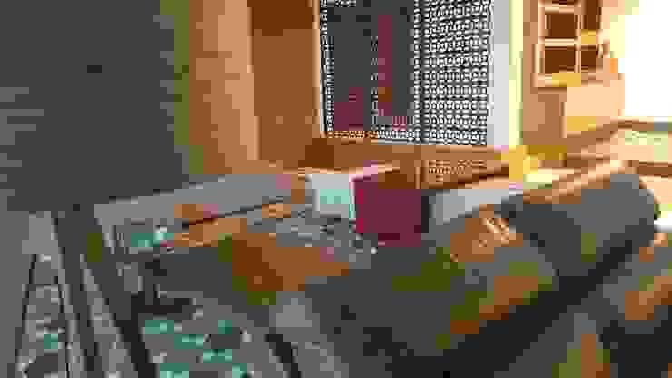 Minimalist living room by Lucio Nocito Arquitetura e Design de Interiores Minimalist Iron/Steel