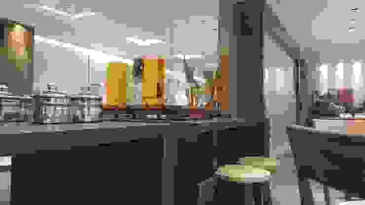 modern  by Lucio Nocito Arquitetura e Design de Interiores , Modern Engineered Wood Transparent