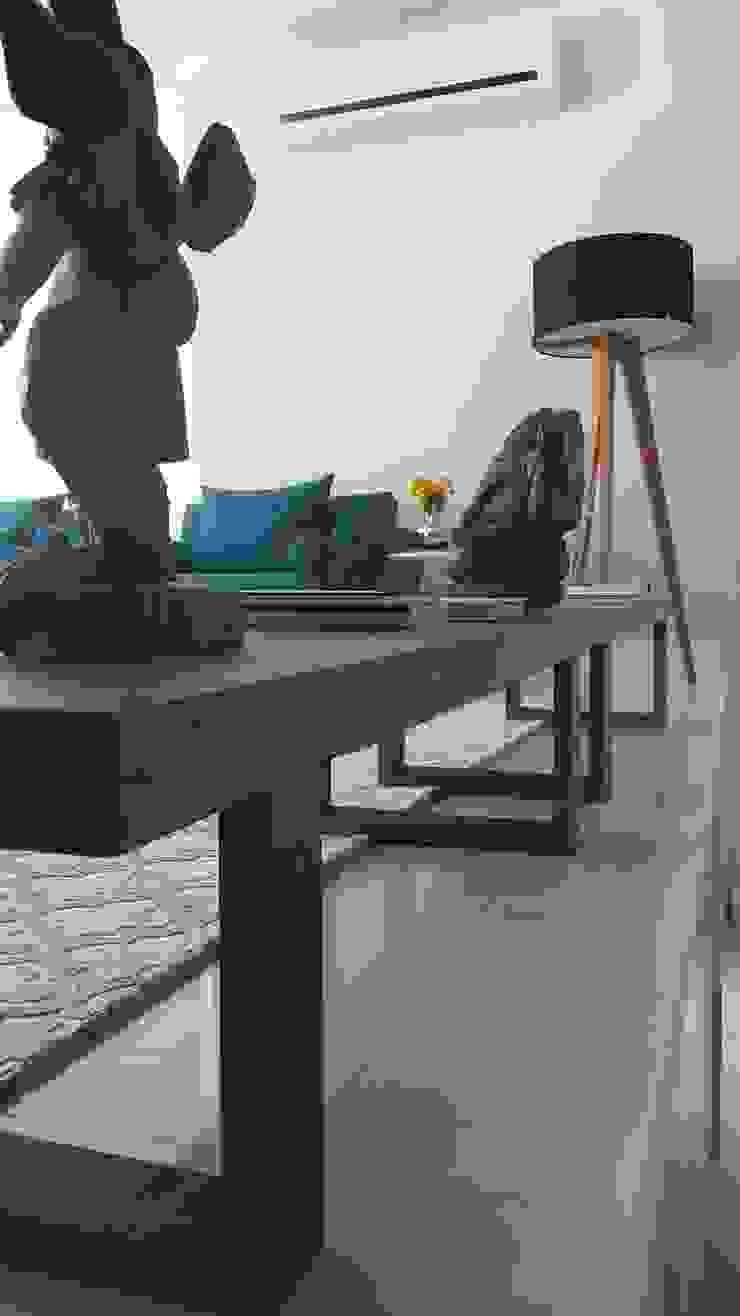 Modern living room by Lucio Nocito Arquitetura e Design de Interiores Modern Marble