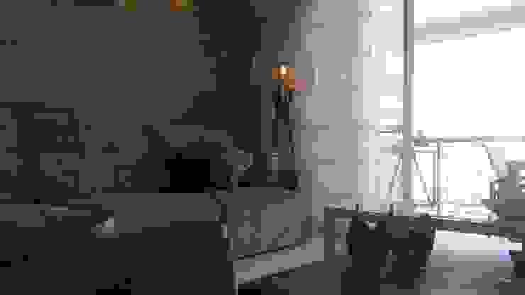 Modern living room by Lucio Nocito Arquitetura e Design de Interiores Modern Concrete