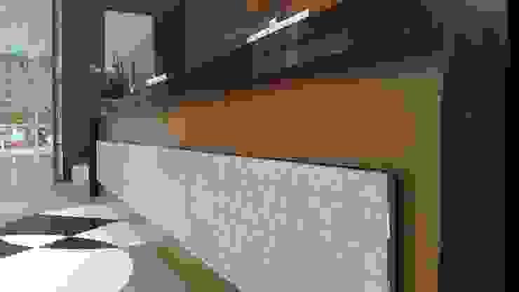 Modern study/office by Lucio Nocito Arquitetura e Design de Interiores Modern Wood Wood effect