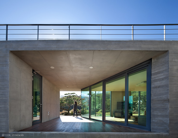 Y-HOUSE 아시아스타일 창문 & 문 by ON ARCHITECTURE INC. 한옥