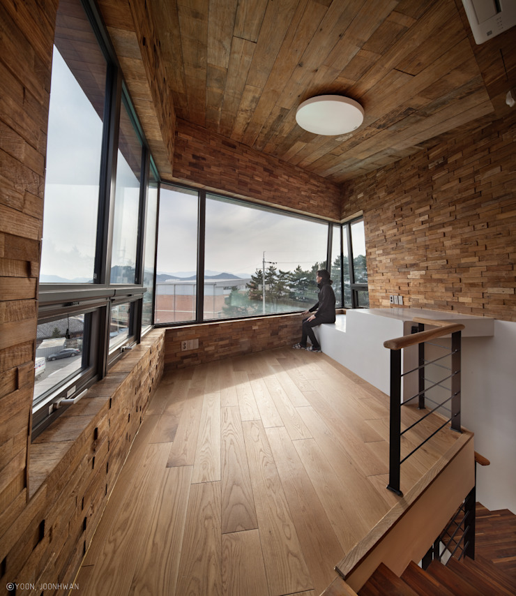 TOWER HOUSE 아시아스타일 서재 / 사무실 by ON ARCHITECTURE INC. 한옥