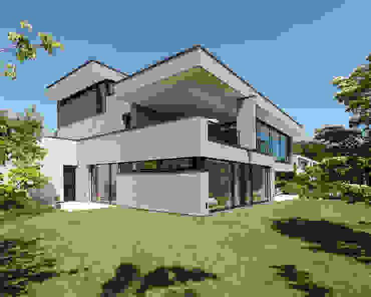 Moderne huizen van meier architekten zürich Modern