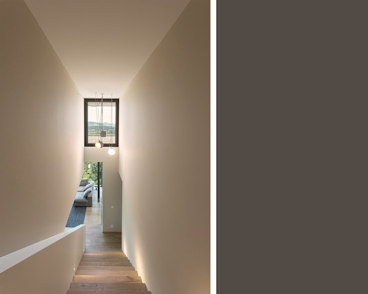meier architekten zürich ห้องโถงทางเดินและบันไดสมัยใหม่