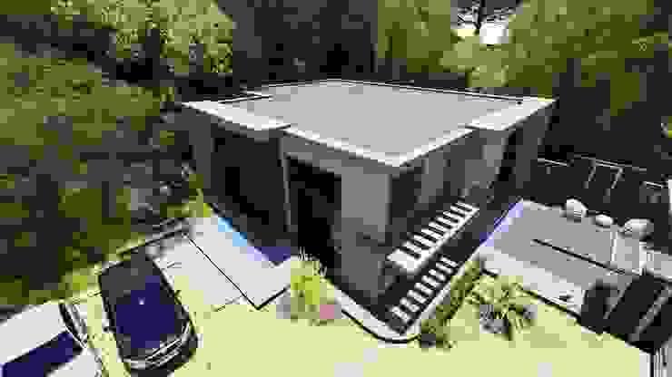 Casas de estilo  por homify, Moderno Concreto reforzado
