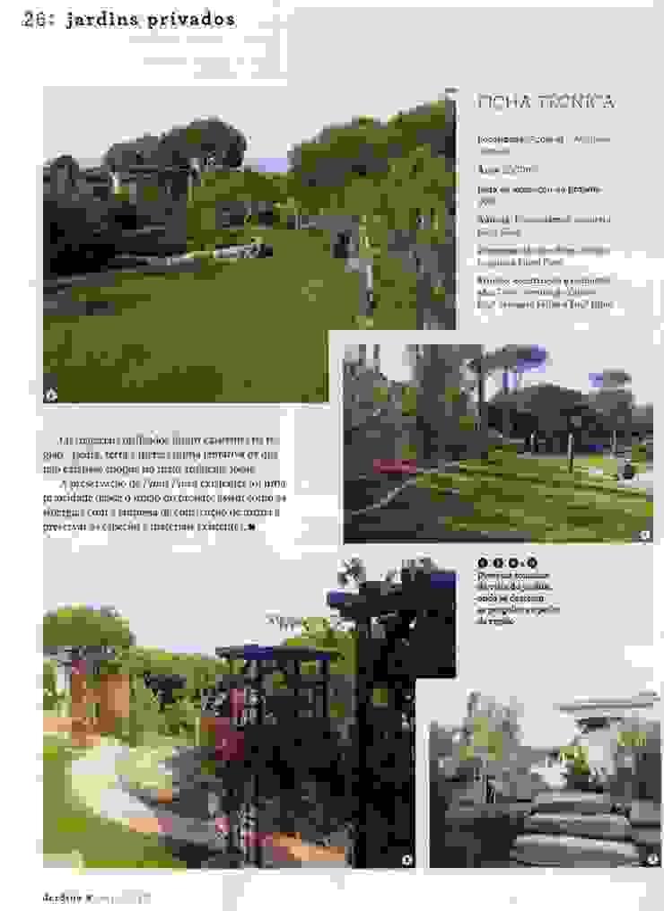 Jardim Privado por ECOSSISTEMAS; Áreas Verdes e Sistemas de Rega. Mediterrânico