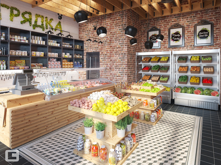 Giovani Design Studio Industrial style offices & stores