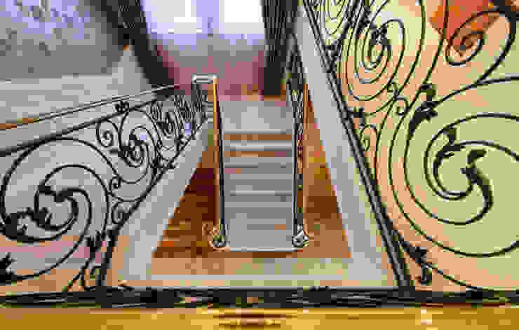 Hallway Stairs After by George Bond Interior Design