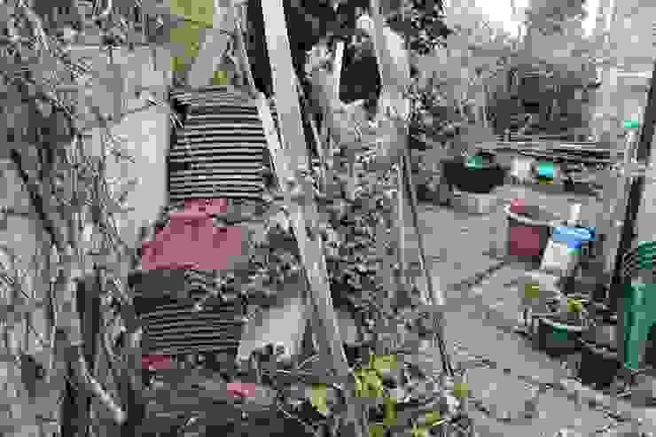 Garden Before by Millennium Interior Designers