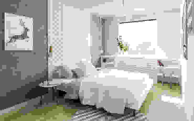 İskandinav Yatak Odası Formea Studio İskandinav