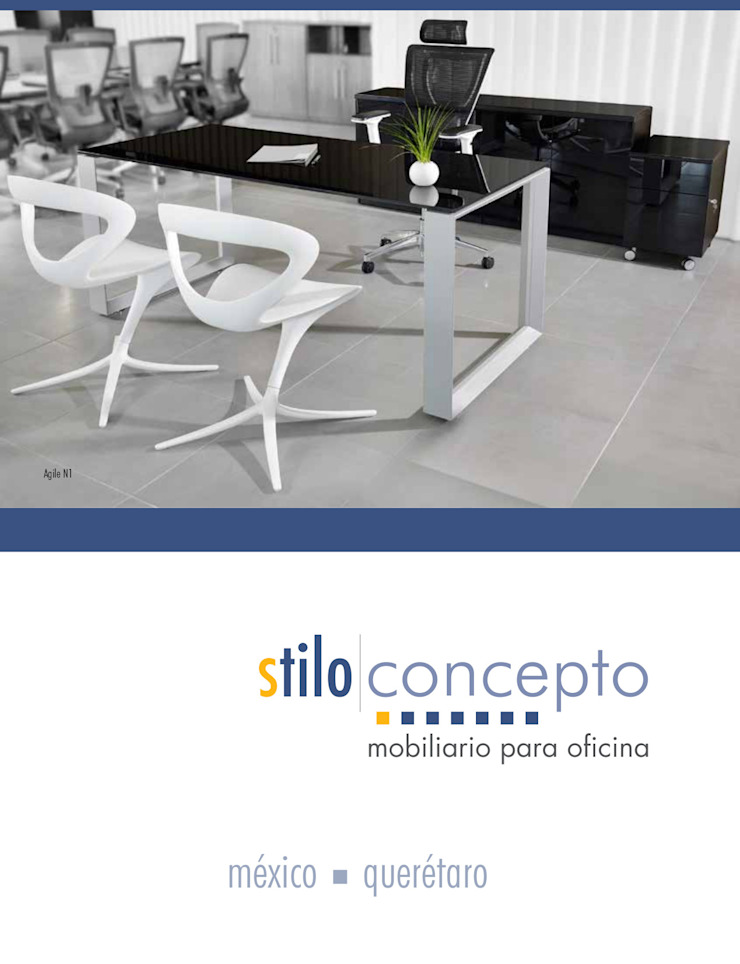 Stilo Concepto Office spaces & stores Wood-Plastic Composite Wood effect