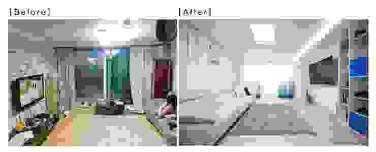 가족들에게 꼭 맞춰진 아이템들로 채워진 새집같은 우리집 리모델링  : 퍼스트애비뉴의 현대 ,모던