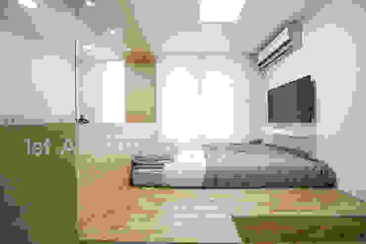 가족들에게 꼭 맞춰진 아이템들로 채워진 새집같은 우리집 리모델링 모던스타일 침실 by 퍼스트애비뉴 모던
